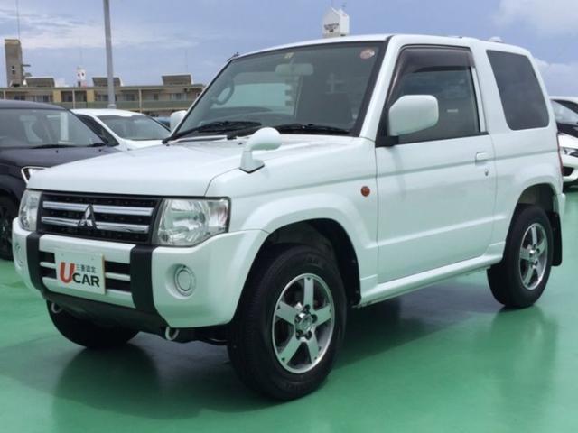 沖縄県の中古車ならパジェロミニ XR 内地仕入 CD