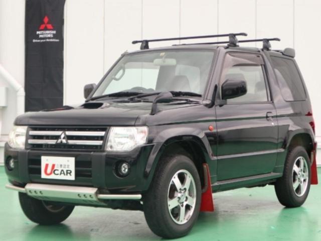 パジェロミニ(沖縄 中古車) 色:ブラック 価格:129.8万円 年式:2012(平成24)年 走行距離:3.6万km