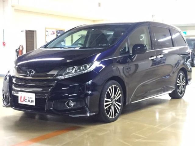 沖縄県の中古車ならオデッセイ アブソルート 内地仕入 ナビCDTV 後席モニター LED