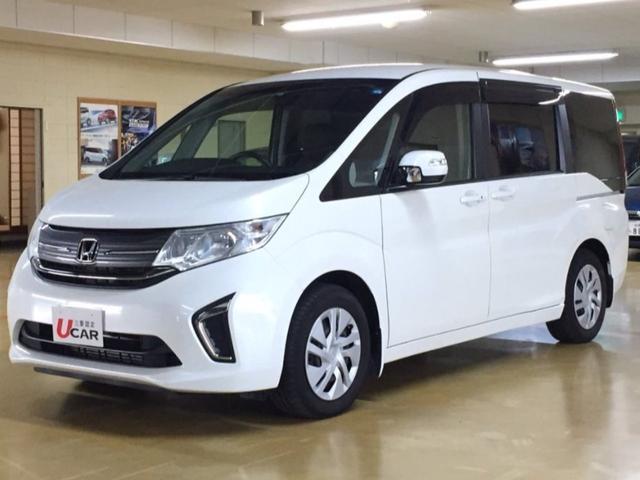 ステップワゴン(沖縄 中古車) 色:ホワイト 価格:184.8万円 年式:2016(平成28)年 走行距離:4.9万km