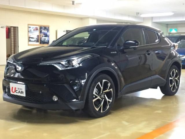 C-HR(沖縄 中古車) 色:ブラック 価格:239.8万円 年式:2017(平成29)年 走行距離:4.6万km
