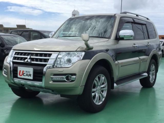 沖縄県の中古車ならパジェロ ロングスーパーエクシードユーザー買取車4WDロックフォード