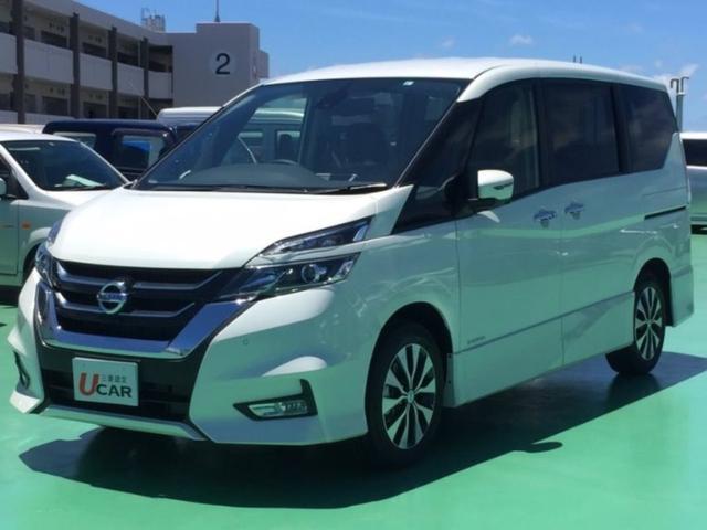 沖縄県の中古車ならセレナ ハイウェイスターVセレクションII 内地仕入 登録済未使用車