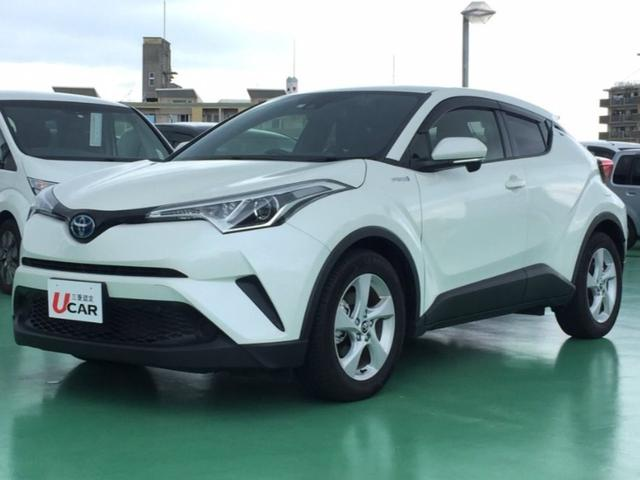 C-HR(沖縄 中古車) 色:ホワイト 価格:219.8万円 年式:2017(平成29)年 走行距離:0.8万km
