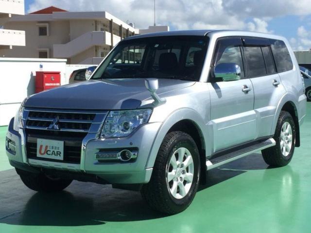 沖縄県の中古車ならパジェロ ロングエクシード 内地仕入 ロックフォード 外ナビ TV