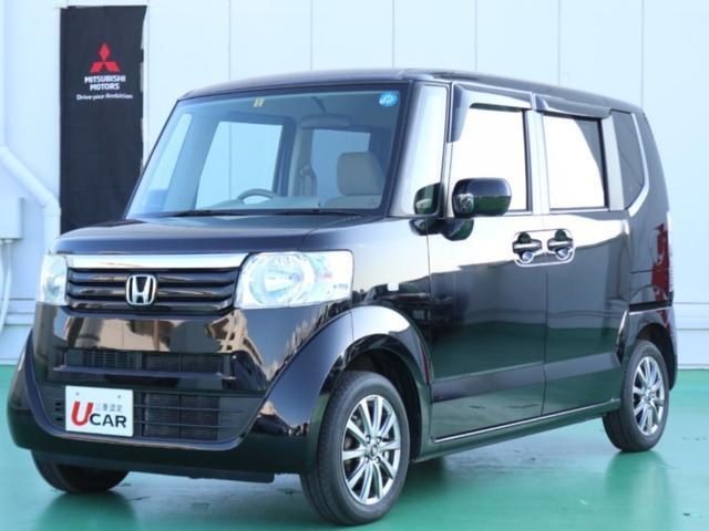 沖縄の中古車 ホンダ N-BOX 車両価格 84.8万円 リ済別 2013(平成25)年 3.6万km ブラック