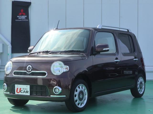 沖縄の中古車 ダイハツ ミラココア 車両価格 79.8万円 リ済別 2012(平成24)年 5.1万km ブラウン