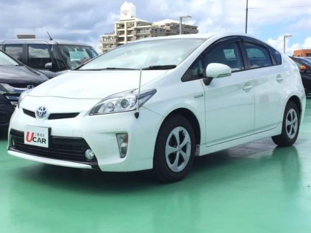 沖縄県の中古車ならプリウス S 内地仕入 純SDナビTV Bカメラ ETC オートライト