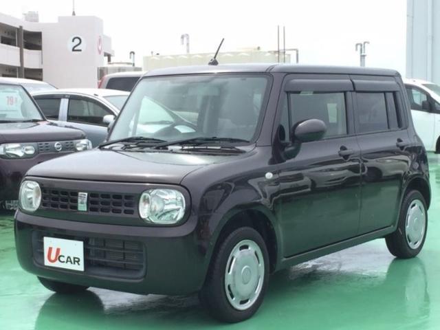 沖縄県の中古車ならアルトラパン G 内地仕入 スマートキー 社外ナビ スマートキー 認定保証