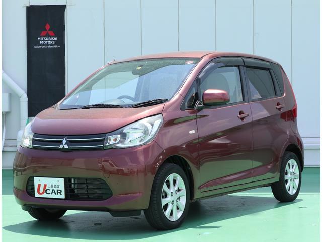 沖縄の中古車 三菱 eKワゴン 車両価格 59.8万円 リ済別 2013(平成25)年 1.8万km チェリーブラウンパール