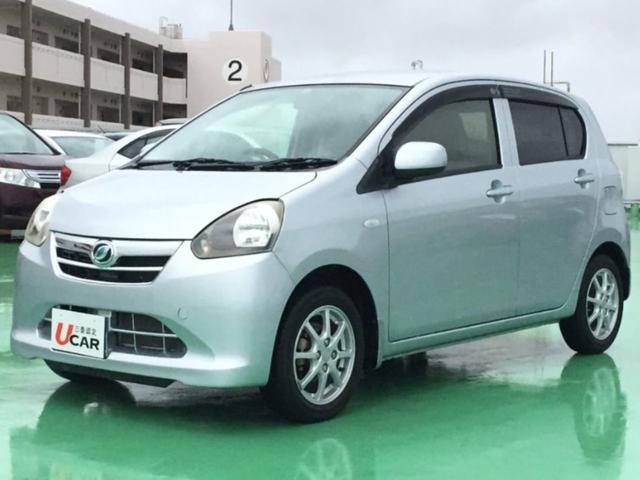 沖縄の中古車 ダイハツ ミライース 車両価格 54.8万円 リ済別 2012(平成24)年 0.9万km シルバー