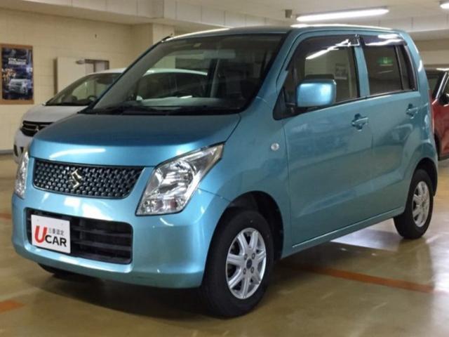 沖縄県の中古車ならワゴンR FX 内地仕入 社外ナビ TV 社外アルミ 保証付
