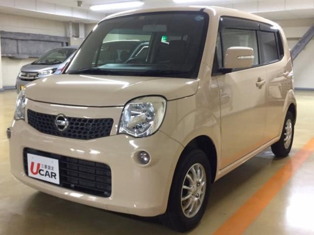 沖縄の中古車 日産 モコ 車両価格 69.8万円 リ済別 2013(平成25)年 3.5万km ミルクティーベージュ