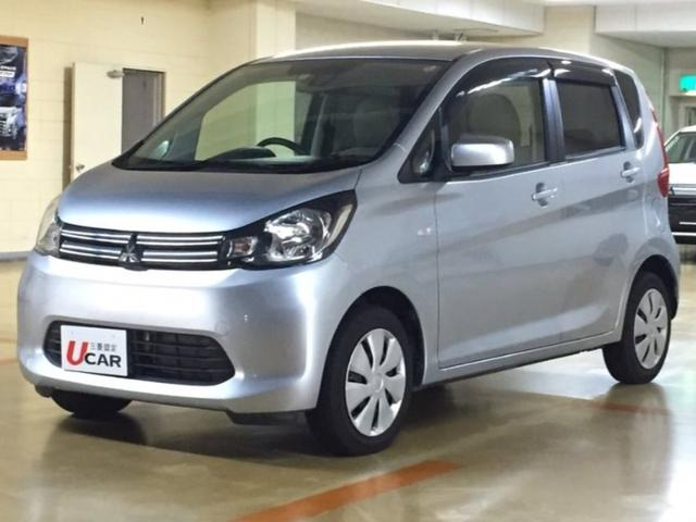 沖縄の中古車 三菱 eKワゴン 車両価格 69.8万円 リ済別 2015(平成27)年 2.0万km シルバー