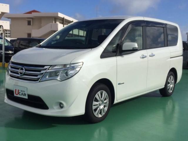 沖縄県の中古車ならセレナ 20X S-ハイブリッド 内地仕入 認定保証付 パワスラ