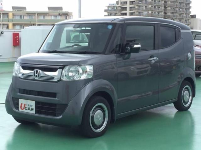 N-BOXスラッシュ(沖縄 中古車) 色:グレーII 価格:144.8万円 年式:2015(平成27)年 走行距離:3.4万km