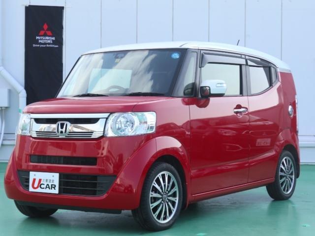 沖縄県浦添市の中古車ならN-BOXスラッシュ X・ターボPKG/内地仕入・ナビ・あんしんPKG・新品タイヤ