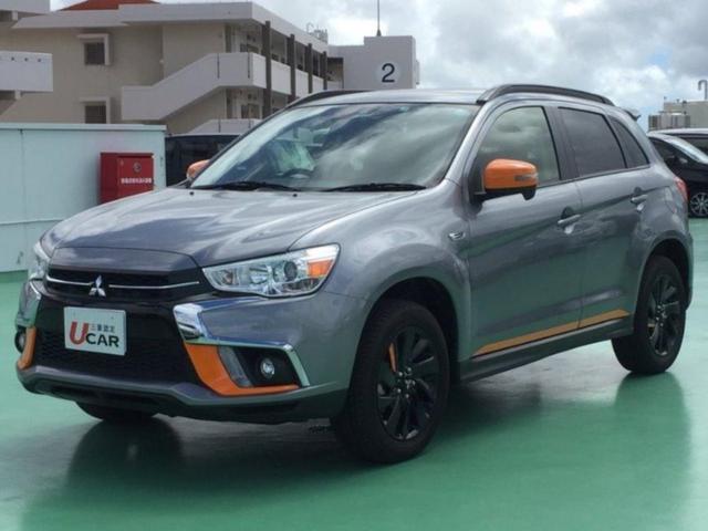 沖縄県の中古車ならRVR アクティブギア 特別仕様車 内地仕入 スマホ連携オーディオ