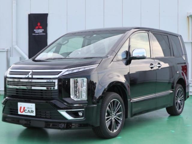 三菱 デリカD:5 アーバンギア GパワーPKG 試乗車 両側パワスラ 新車保証