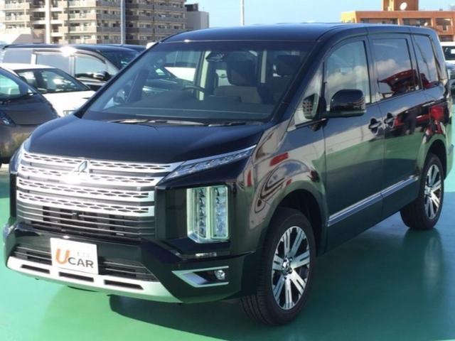 沖縄県の中古車ならデリカD:5 /Gパワーパッケージ・登録済未使用車・新車保証・8人乗り