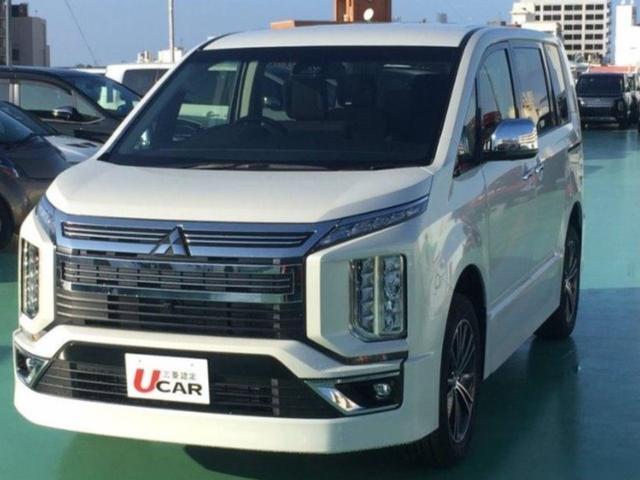 沖縄県の中古車ならデリカD:5 アーバンギアGパワーPKG 登録済未使用車 新車保証