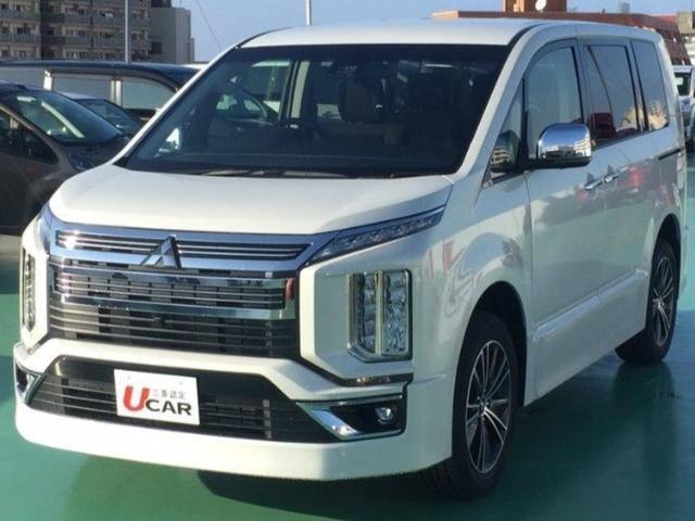三菱 デリカD:5 アーバンギア G パワーパッケージ 登録済未使用車 新車保証