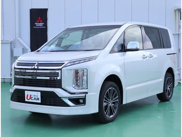 沖縄県の中古車ならデリカD:5 アーバンギアGパワーPKG7人乗り 登録済未使用車 新車保証