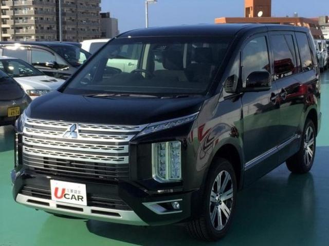 沖縄県の中古車ならデリカD:5 G パワーパッケージ 8人乗り 登録済未使用車 新車保証