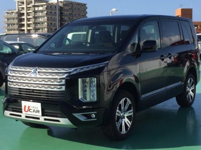 沖縄県の中古車ならデリカD:5 /Gパワーパッケージ・両パワスラ・登録済未使用車・新車保証