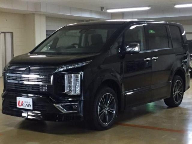 デリカD:5(沖縄 中古車) 色:Dブラック 価格:389.8万円 年式:2019(令和1)年 走行距離:15km