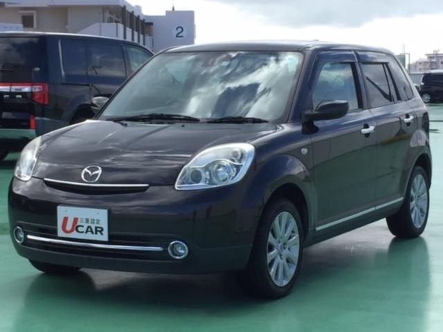 沖縄の中古車 マツダ ベリーサ 車両価格 55.9万円 リ済別 2011(平成23)年 6.2万km グレー