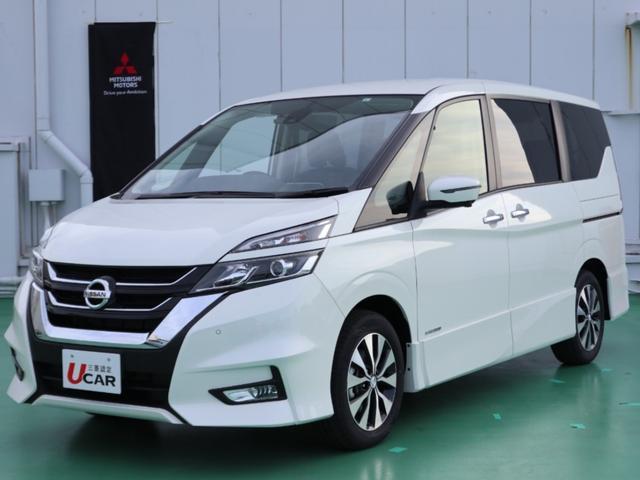沖縄県の中古車ならセレナ ハイウェイスタVセレII/登録済未使用車・純ナビ・ドラレコ