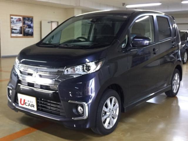 沖縄県の中古車ならeKカスタム GセーフティPkg チョイ乗り走行3000km ナビTV