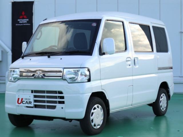 沖縄の中古車 三菱 ミニキャブバン 車両価格 89.8万円 リ済別 2012(平成24)年 4.6万km ホワイト