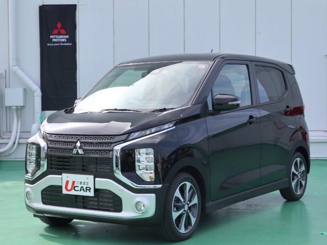 沖縄県浦添市の中古車ならeKクロス T/届出済未使用車・ターボ車・快適PKG・LED・新車保証