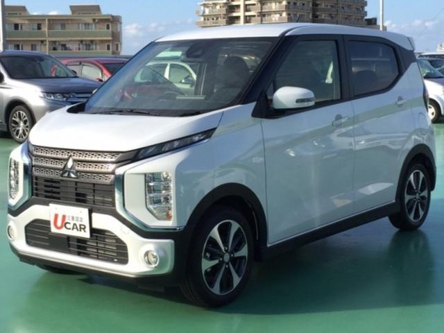沖縄県の中古車ならeKクロス T/ターボ車・快適パッケージ・LED・純正AW・新車保証