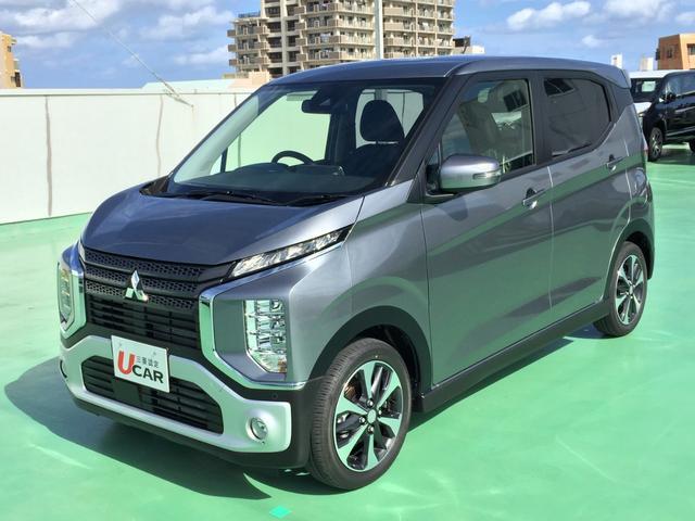 沖縄県の中古車ならeKクロス T 届出済未使用車 ターボ車 快適PKG LED 新車保証