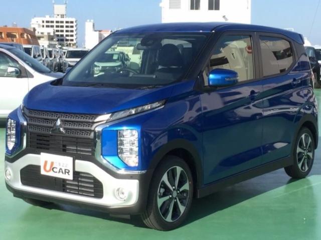 eKクロス(沖縄 中古車) 色:ブルー 価格:138.8万円 年式:2019(令和1)年 走行距離:5km