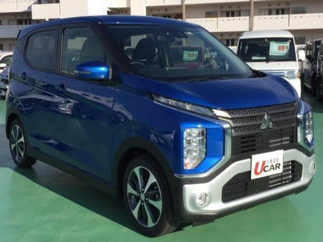 沖縄県の中古車ならeKクロス G/届出済未使用車・快適PKG・LED・新車保証・純正AW