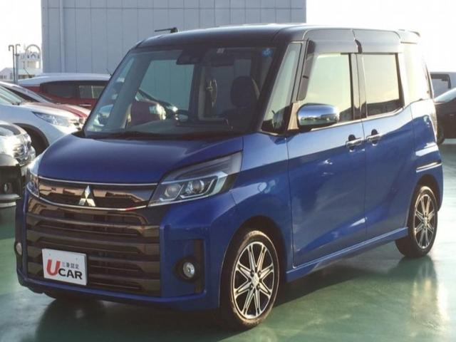 沖縄県の中古車ならeKスペースカスタム カスタムTセーフティPKG ユーザー買取車 ワイドナビ TV
