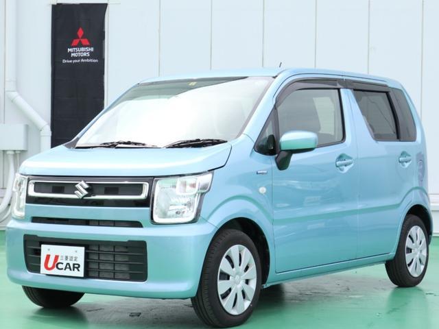 沖縄の中古車 スズキ ワゴンR 車両価格 99.8万円 リ済別 2018(平成30)年 0.3万km ブルー