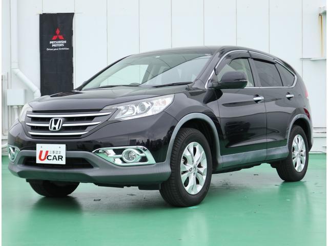 CR-V(沖縄 中古車) 色:ブラック 価格:109.8万円 年式:2012(平成24)年 走行距離:4.0万km