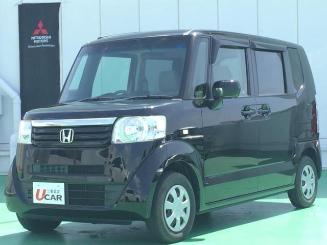 沖縄県浦添市の中古車ならN-BOX G・Lパッケージ 内地仕入 1オーナー 片側Pドア