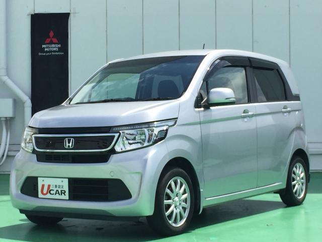 沖縄の中古車 ホンダ N-WGN 車両価格 79.8万円 リ済別 2015(平成27)年 4.8万km シルバー