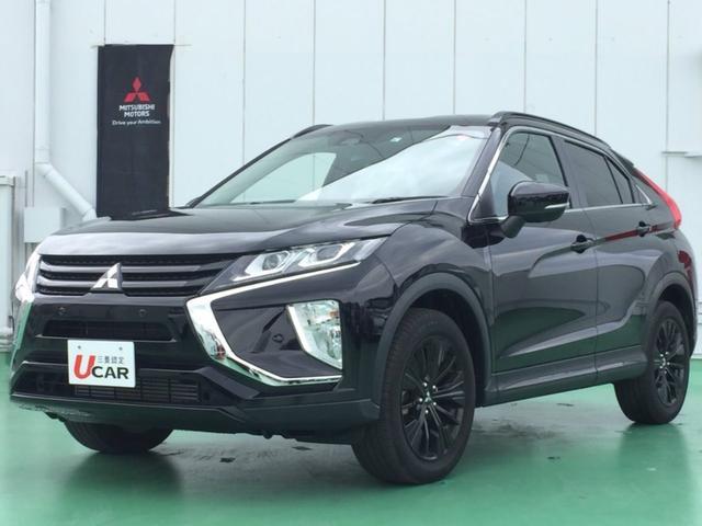 沖縄県の中古車ならエクリプスクロス ブラックエディション 試乗車UP 2.2Lディーゼルターボ・4WD・スマートキー・ディスプレイオーディオ・LEDヘッドライト・プッシュスタート・スマートキー・プライバシーガラス・UVカットガラス・フルオートエアコン