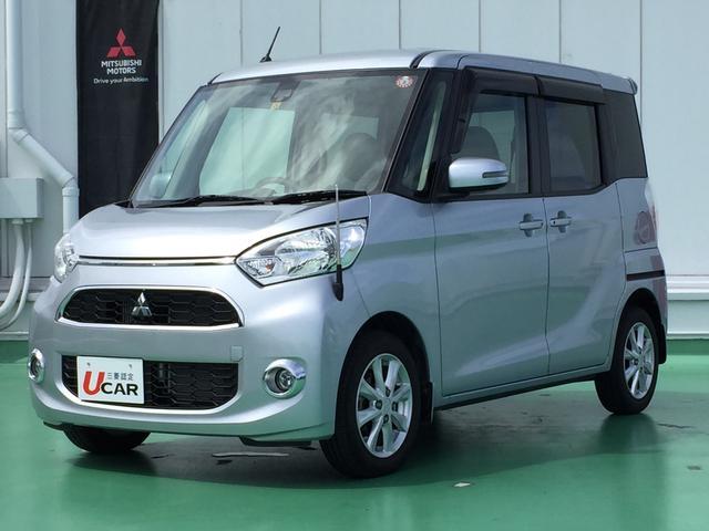 沖縄県浦添市の中古車ならeKスペース TセーフティPKG ユーザー買取 1オーナーナビ全方位BC
