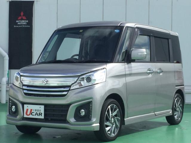 沖縄県浦添市の中古車ならスペーシアカスタム XS ユーザー買取車 オーディオ Pスタート