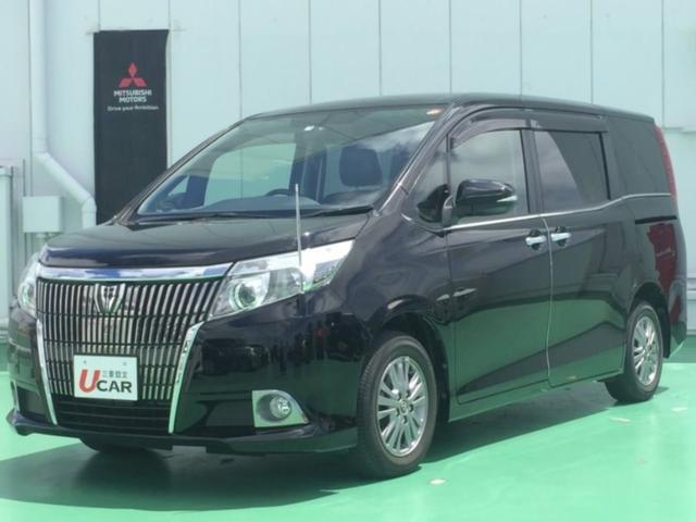 沖縄県の中古車ならエスクァイア Gi ユーザー買取車 ナビ ETC 7人乗り 電動ポール