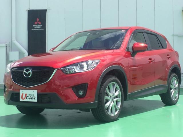 CX-5(沖縄 中古車) 色:ソウルレッドプレミアムメタリック 価格:139.8万円 年式:2013(平成25)年 走行距離:5.4万km