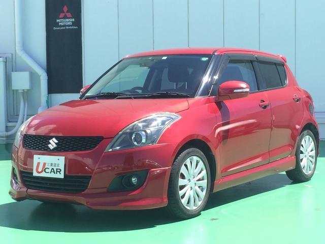 沖縄県の中古車ならスイフト RS/ユーザー買取・オーディオ・5速MT車・Pスタート付